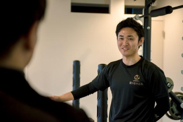 トレーナー 平良さん