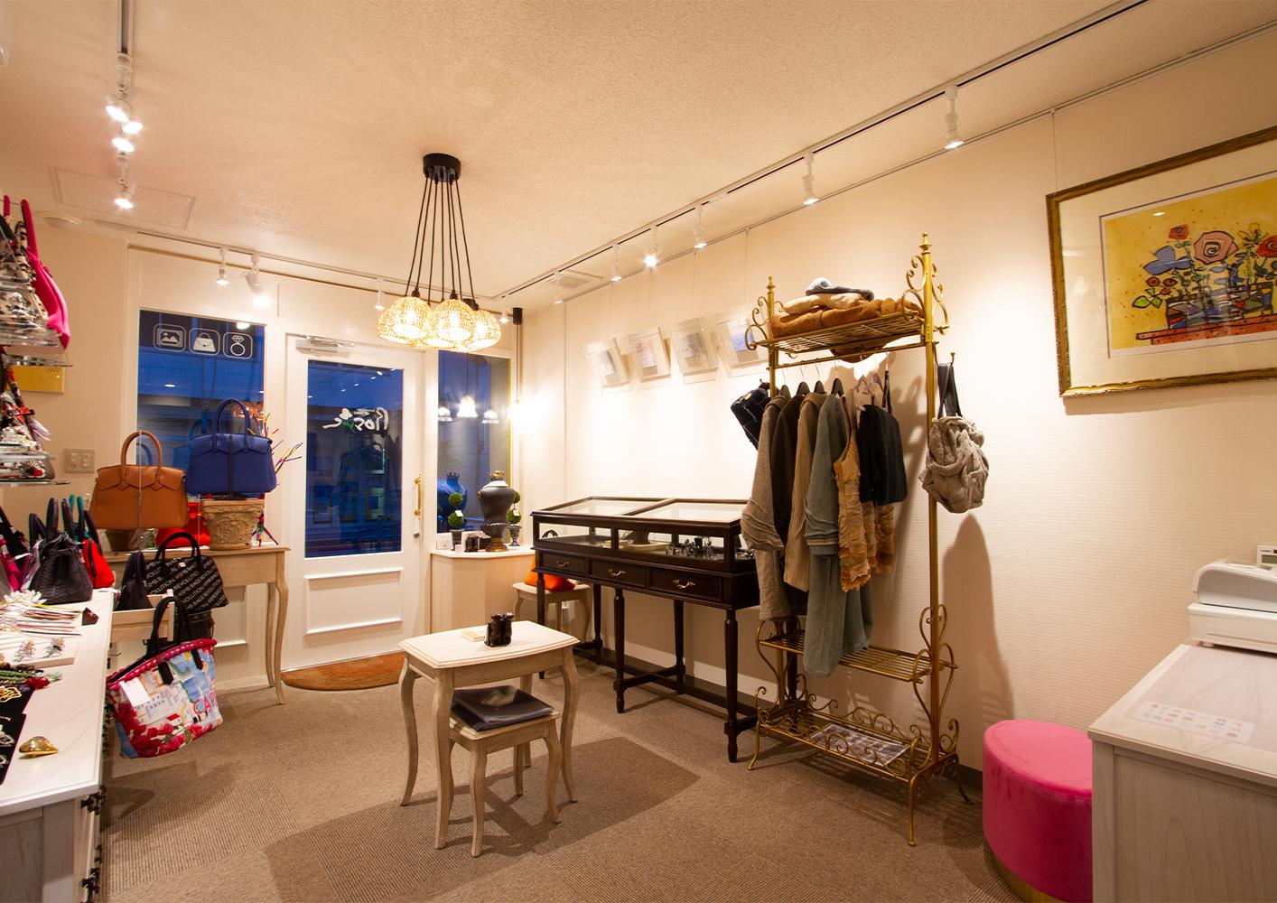 accessories&gallery Rosie 店舗