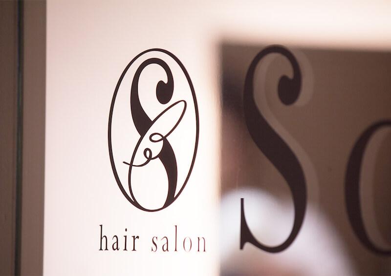 美容室soraのロゴ