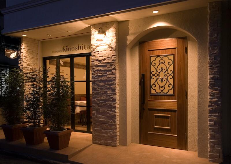 カレーキノシタ 入口ドア