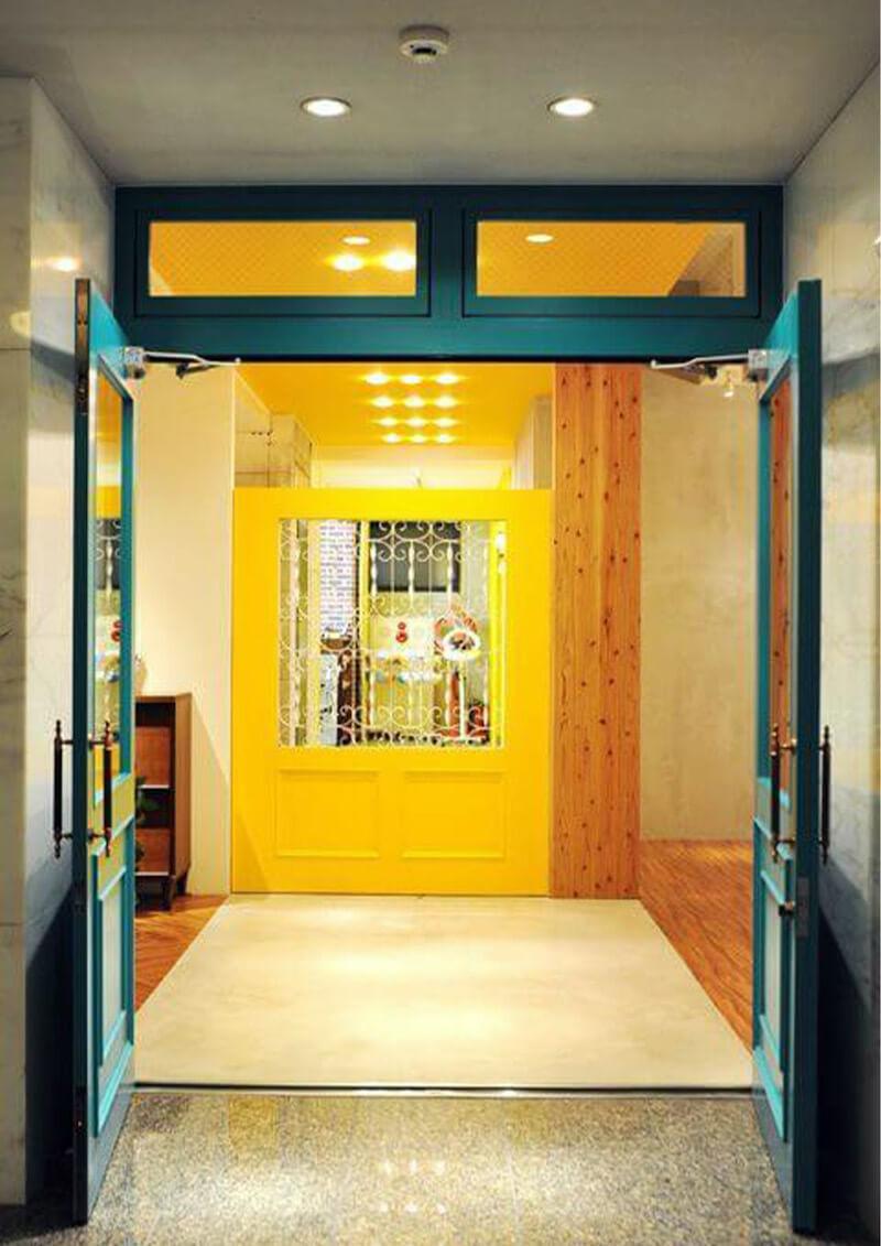 美容室switch入口