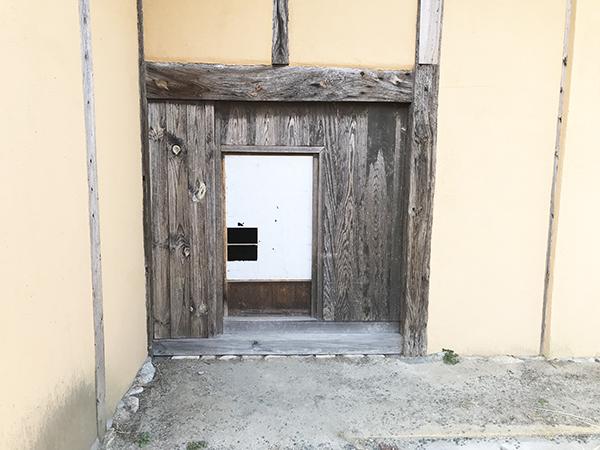 藤瀬家住宅の玄関