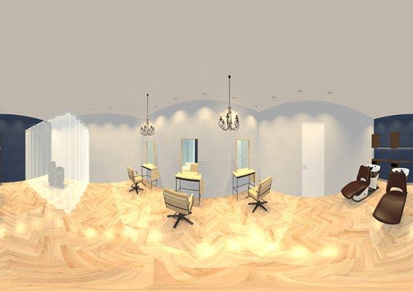 VR仕様 3Dイメージパース