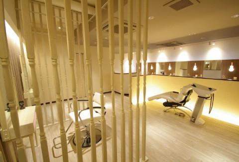 美容室のシャンプールーム 店舗デザイン